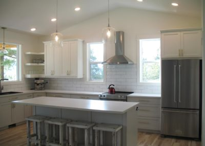 custom cabinets and counte